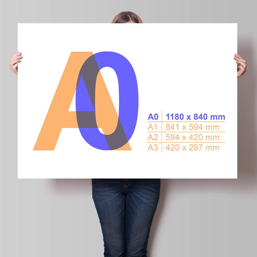 Plakát A0 na šířku