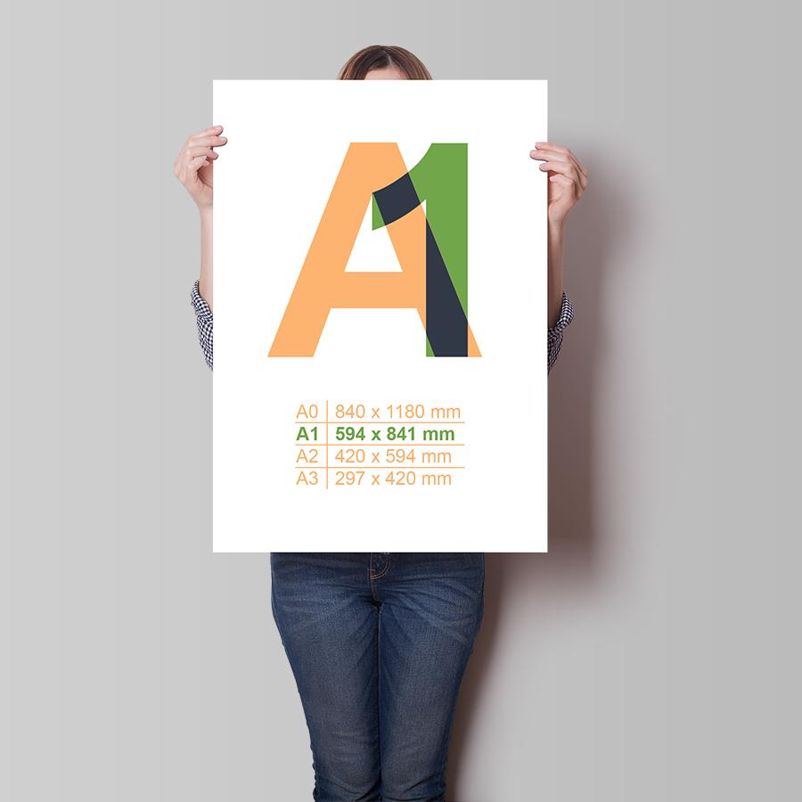 Plakát A1 na výšku