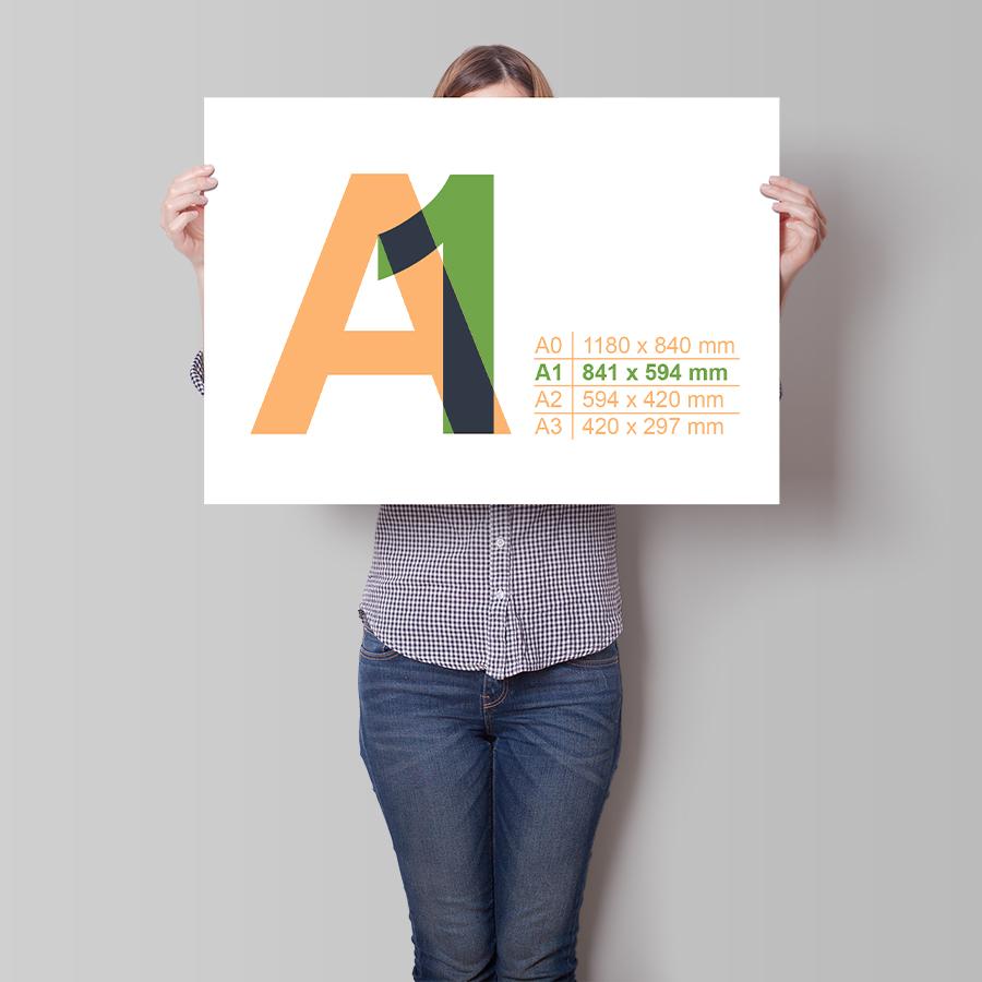Plakát A1 na šířku