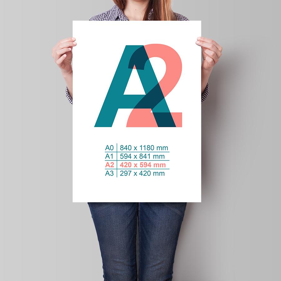Plakát A2 na výšku