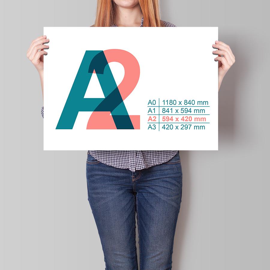 Plakát A2 na šířku
