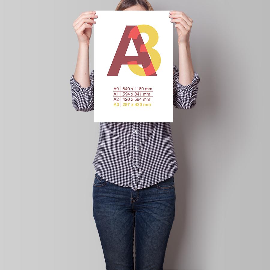 Plakát A3 na výšku