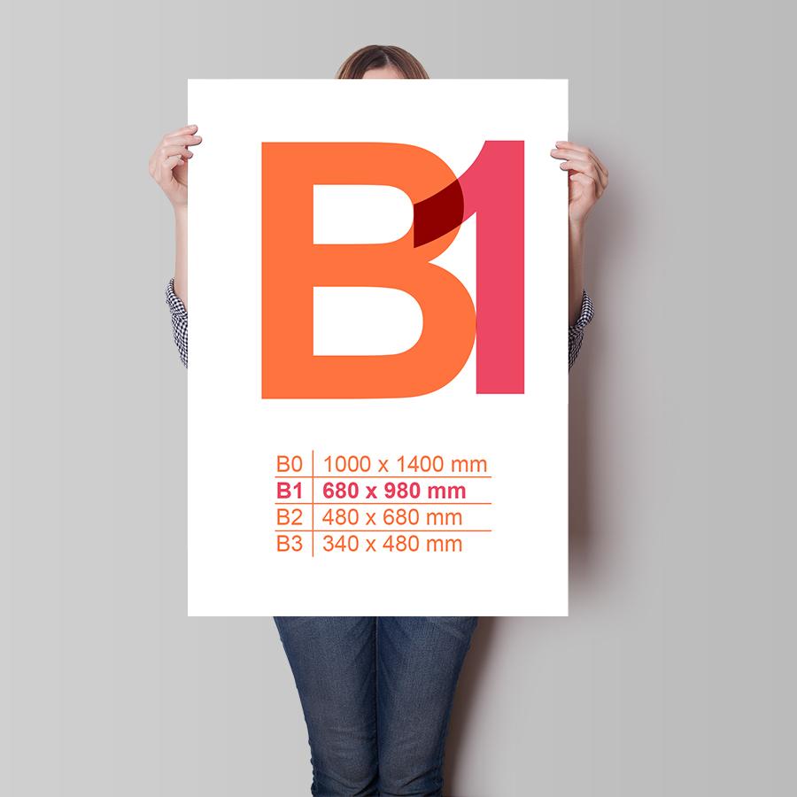 Plakát B1 na výšku