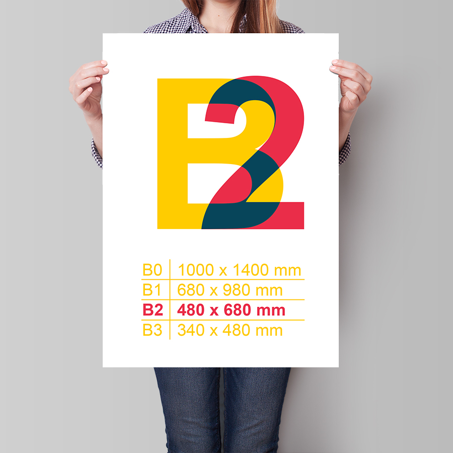 Plakát B2 na výšku
