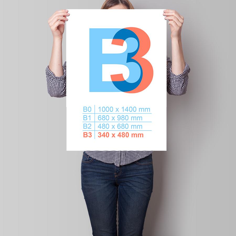 Plakát B3 na výšku