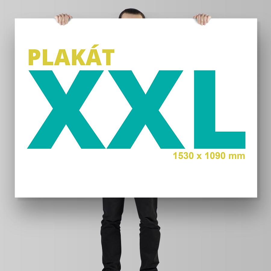 Plakát XXL na šířku