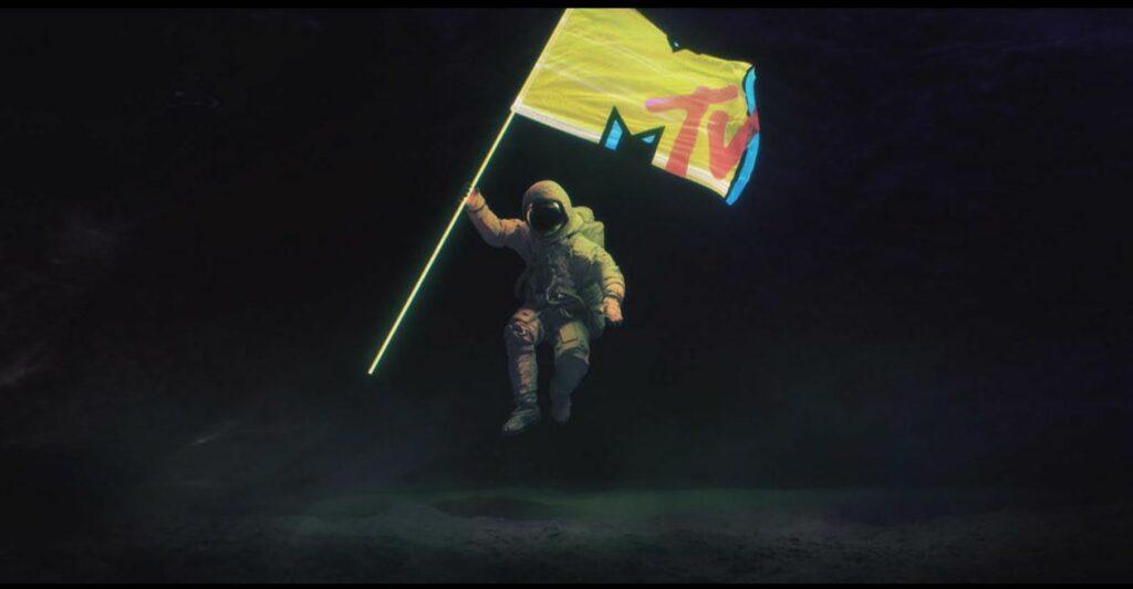 MTV -  Reklamní vlajky