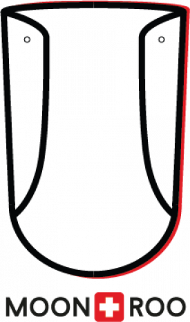 Vyměnitelný zorník na ochranný štít MOONROO COVER Premium