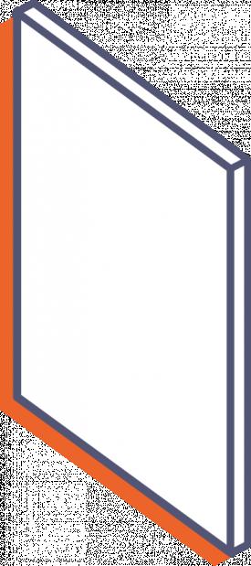 Desky z mléčného plexiskla