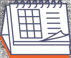 Stolní kalendář se spirálou (týdenní)