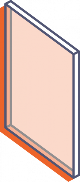 Desky z průhledného plexiskla bez potisku - řezané