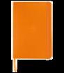 Zápisník A5 s tvrdými deskami a gumičkou - barevná vazba