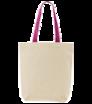 Látková taška s barevnými uchy