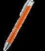 Kovové kuličkové pero s chromovanými prvky