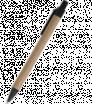 Kuličkové pero z recyklovaného papíru s barevným klipem