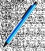 Kovové kuličkové pero s černým klipem
