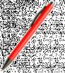 Plastové kuličkové pero se šedými prvky