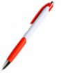 Plastové kuličkové pero s barevnými prvky