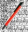 Kovové kuličkové pero v kovové barvě se stylusem