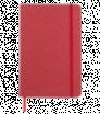 Zápisník A5 s tvrdými papírovými deskami a gumičkou