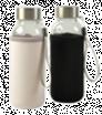 Skleněná láhev s neoprenovým obalem 300 ml