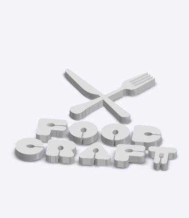 3D písmena a obrázky - Styrodur