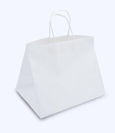 Papírová taška na menubox s potiskem