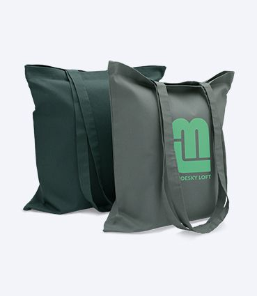 Látková taška s potiskem