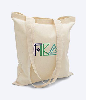 Přírodní látková taška