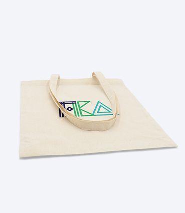Nákupní látková taška s potiskem