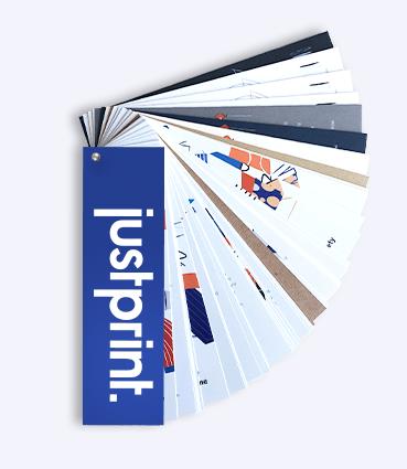 Vzorník papírů Justprint