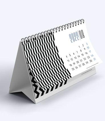 Stolní kalendář se spirálou (měsíční)