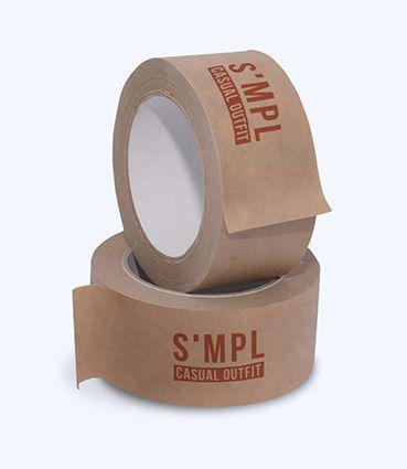 Papírová páska s potiskem