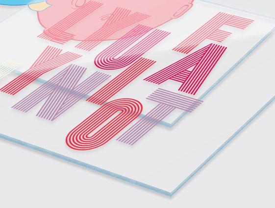 Desky z průhledného plexiskla online tisk 1