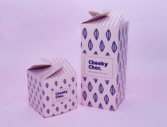 Dárkové krabice s rozetovým uzávěrem, 4 strany online tisk 1