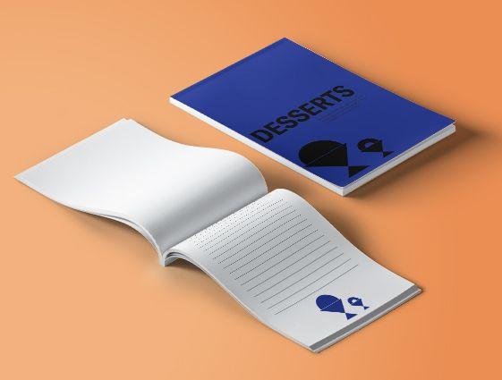 Poznámkové bloky pro číšníky - s obalem online tisk 1