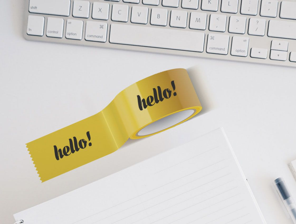 Lepicí páska s potiskem online tisk 1