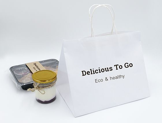 Papírová taška na menubox online tisk 1