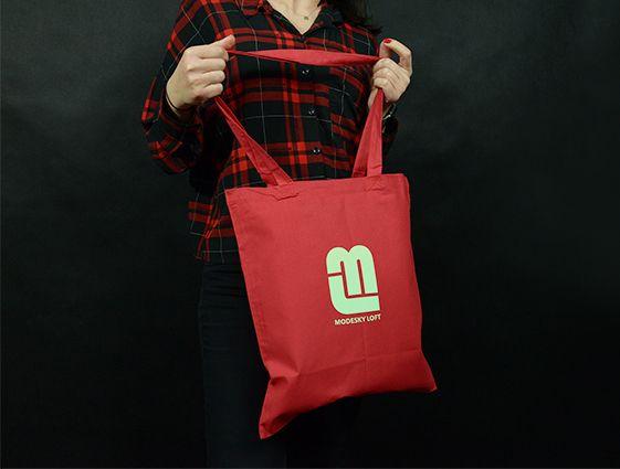 Látková taška - barevná online tisk 1
