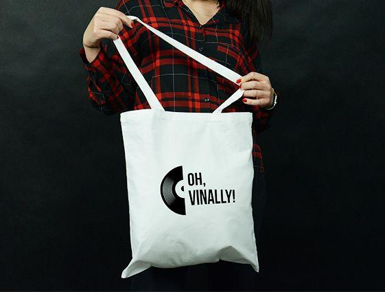 Látková taška - bílá online tisk 1