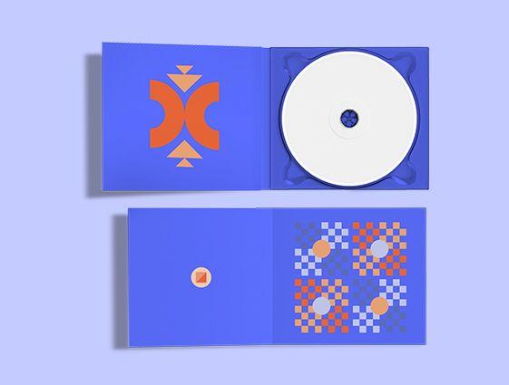 Obal na CD s jednou chlopní online tisk 1