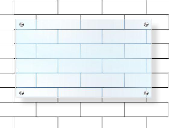 Desky z průhledného plexiskla bez potisku - frézované s otvory online tisk 2