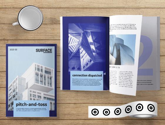 Lepený katalog online tisk 2