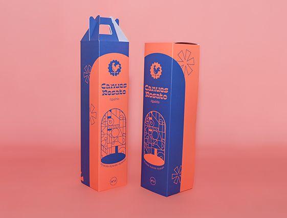 Krabice na víno online tisk 2