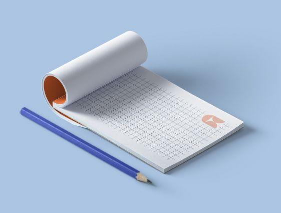 Poznámkové bloky pro číšníky - s obalem online tisk 2