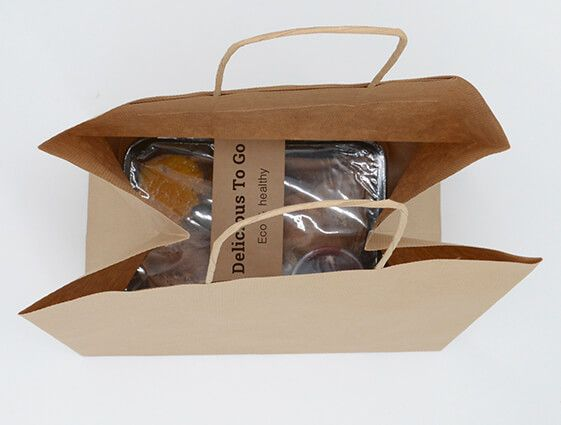 Papírová taška na menubox online tisk 2