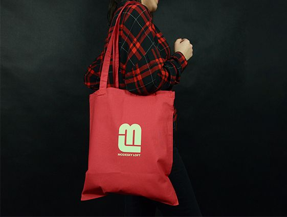 Látková taška - barevná online tisk 2