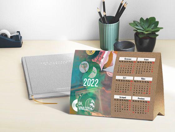 Stolní kalendář online tisk 2