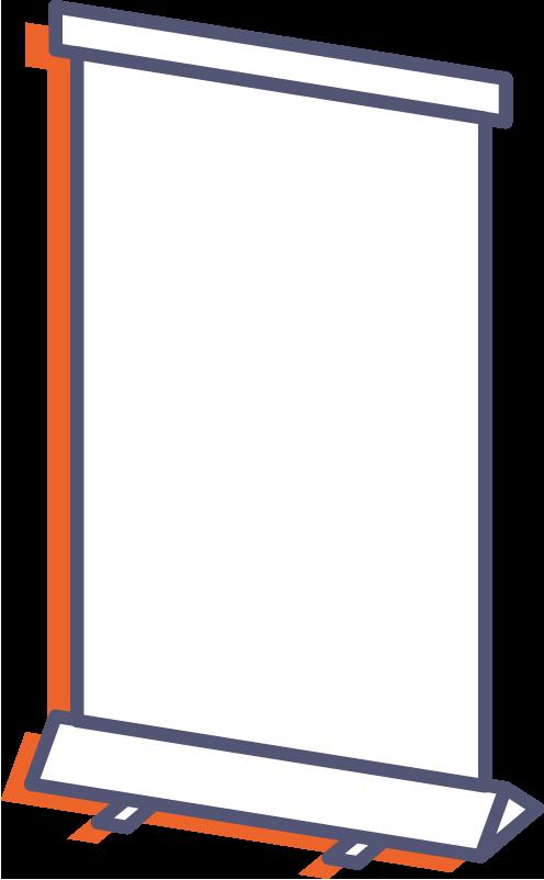 Roll-up online tisk