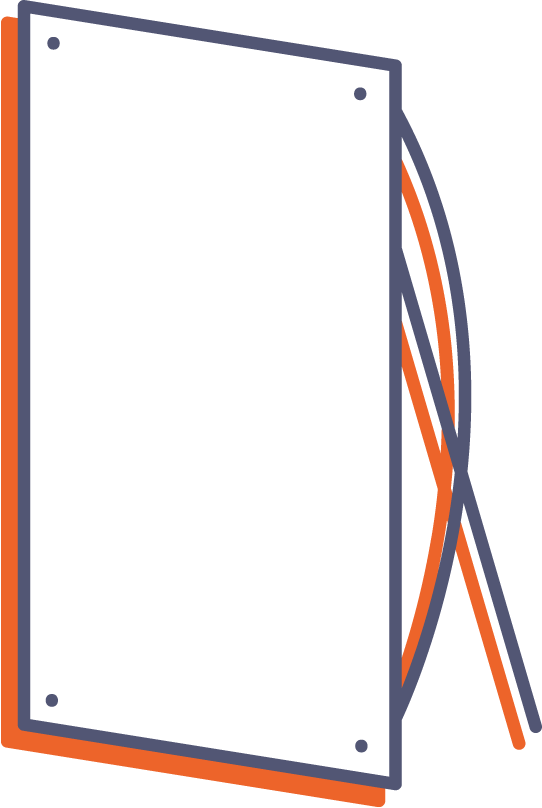 X-banner online tisk